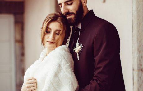 Shooting photo mariage hiver